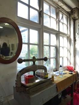Matthew Browne's Studio. Image: Artists Alliance.