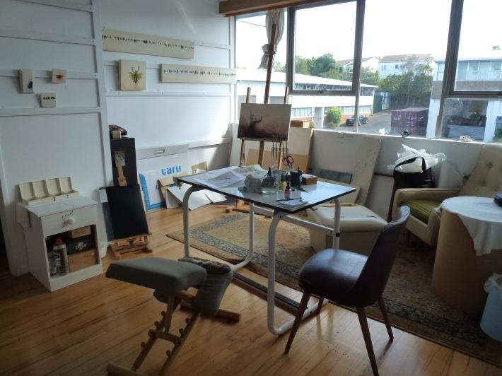 Jane Thorne's studio