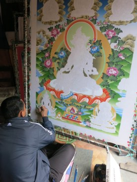 Master Thangka painter