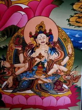 Master Thangka painting copy