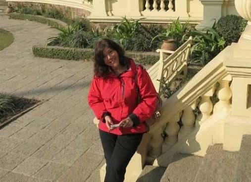 Lorene at the Garden of Dreams