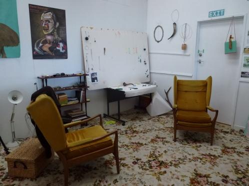 Raewyn Walsh's studio
