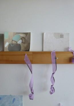 Sue Thomas's studio