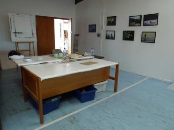 Trevor Bayley's studio