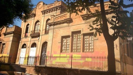Abandoned school.