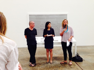 Chen Chieh-jen's artist talk at Carriageworks.