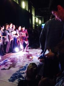 Korakrit Arunanondchai and boychild's Untitled Lip Sync #225 at the Biennale Opening Night, Cockatoo Island.