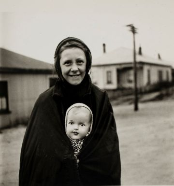 Pascoe, John. Miner's Daughter, Denniston, Westland, September 1944. 1944. Photograph. Auckland Art Gallery Toi o Tamaki, purchased 2010, Auckland.