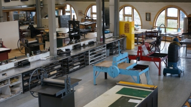 Print workshop at TCotA