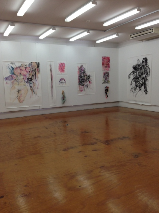 Sian Torrington, Installation view