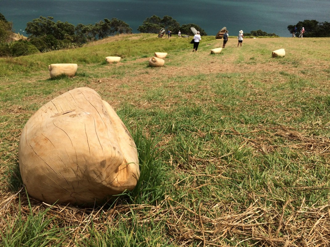 Ioane Ioane, headland Sculpture on the Gulf 2017