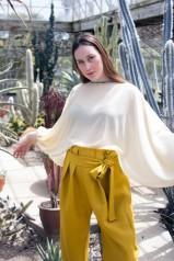 Gienipha Tutaki, Textiles/Fashion Major