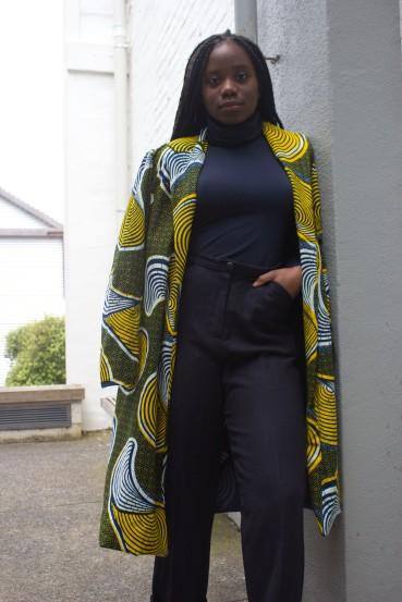 Rabia Cissokho, Textiles/Fashion Major
