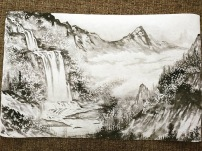 Weilun Ha At Vermont Painting Landscapes