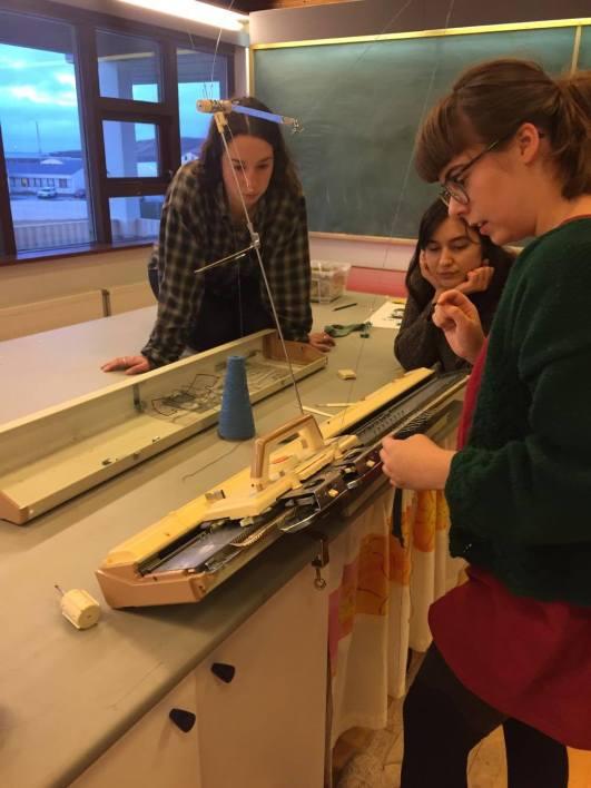 Knitting machine Workshop