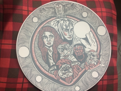 Finished Plate 2018 Labyrinth